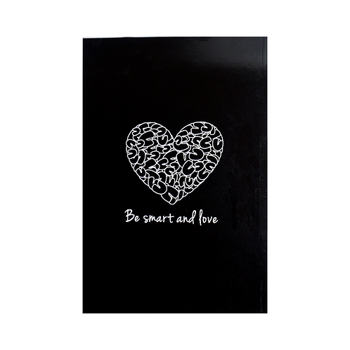 Notebook - Be smart and love