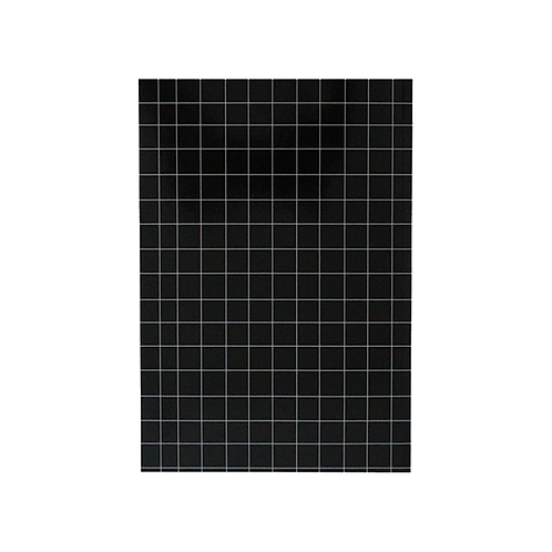 Notebook - Black and white grid