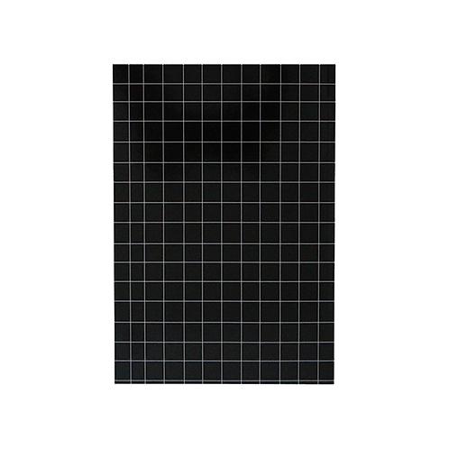 מחברת שורה - גריד שחור לבן