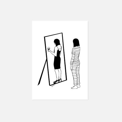 הדפס איור  - בכל דור ודור חייב אדם לראות את עצמו כאילו הוא יצא
