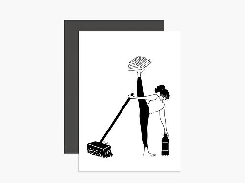 גלויה - Home pilates