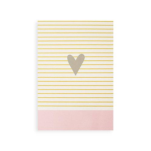 Notebook - Grey heart