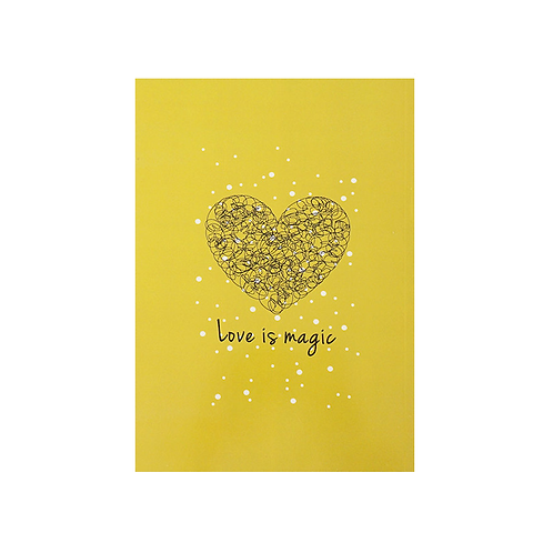 Notebook - Love is magic