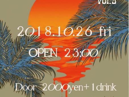 10/26(金)|PRIME TIME vol.5[Reggae・DJ]