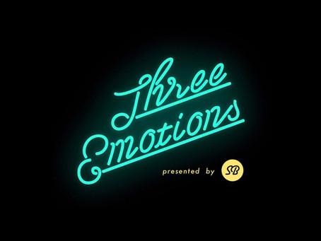7/21(土) Three Emotions