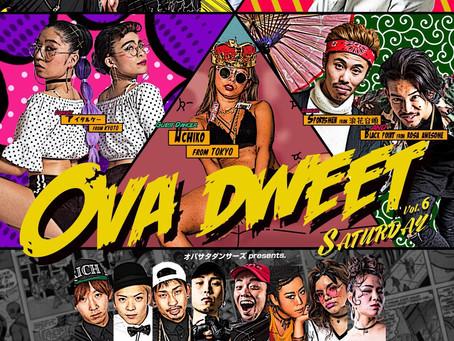 11/3(土)|OVA DWEET SATURDAY vol.6[reggae]