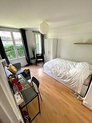 Chambre privée prêt-à-vivre dans un appartement en coliving Paris