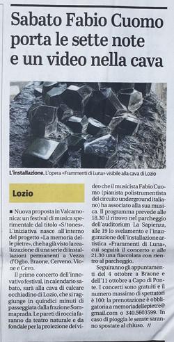 Giornale di Brescia - Frammenti