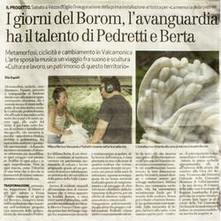 Bresciaoggi - I giorni del Borom