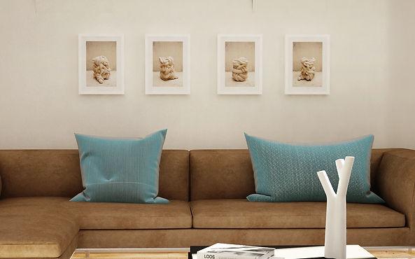 Bachtal series 30 x 40 cm