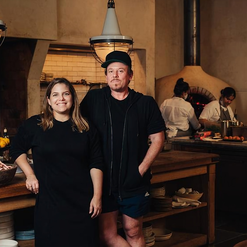 DANIELLE ALVAREZ & MIKE BENNIE - WAGFG VISITING CHEF DINING SERIES