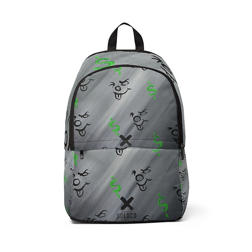 Clown Money Fabric Backpack