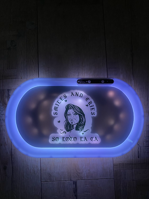 SMILES & CRIES ROLLING TRAY