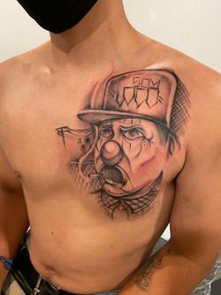 Freehand Payasito Tattoo