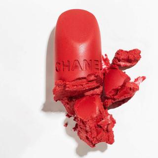 Chanel Lipstick | Bright Red