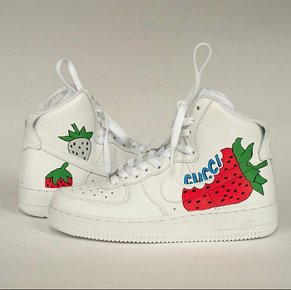 Custom Painted Gucci Shoes