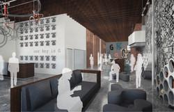 galvanize 1.0 lobby concept open studio architecture OSA