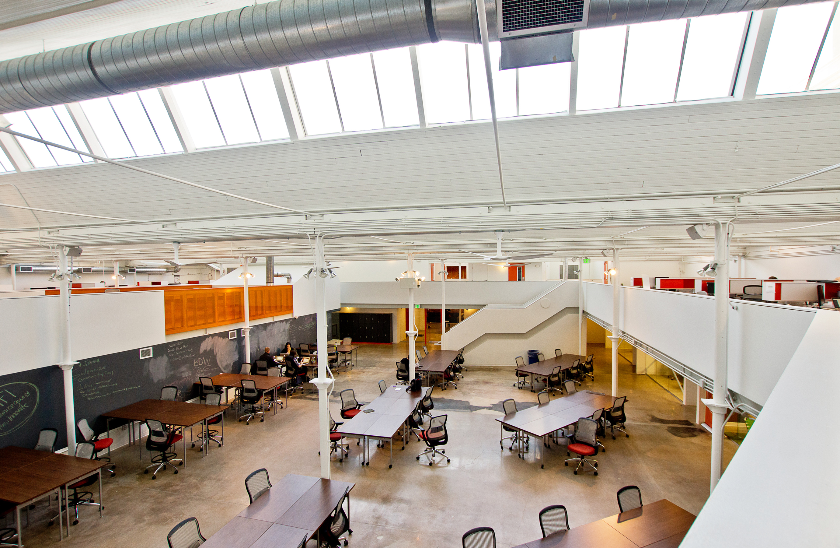 galvanize 1.0 adaptive reuse cowork open studio architecture OSA