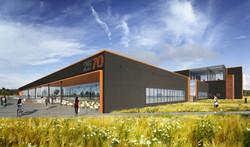 25-70 former Denver Post adaptive reuse exterior rendering