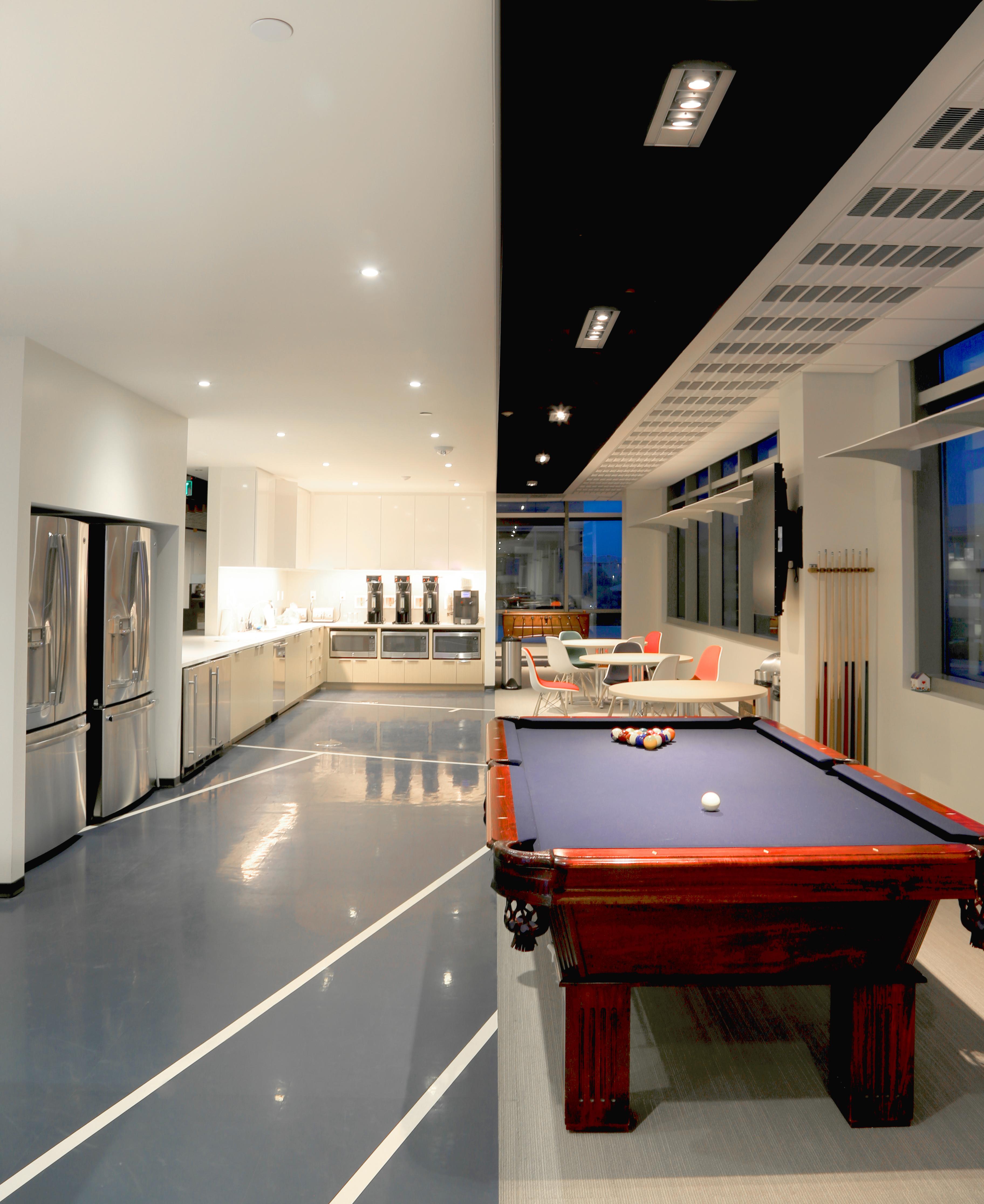 Open Studio Archicture ME Engineers Office Break Room Interior OSA