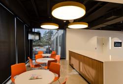 The Lighting Agency TLA Break Room Cafe Open Studio Architecture OSA