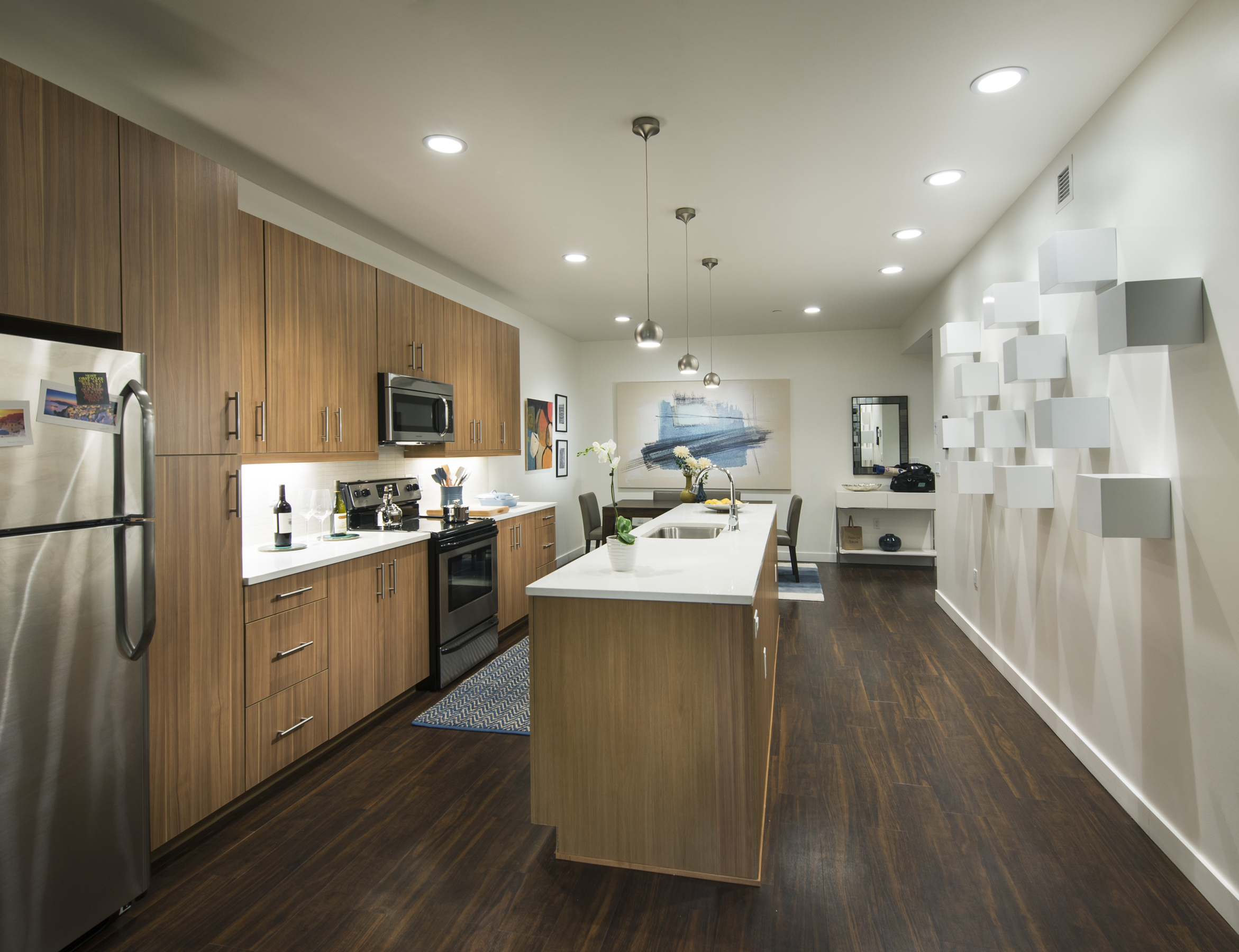 13 Residences at Fillmore Plaza Cherry Creek open studio architecture OSA - interior one bedroom