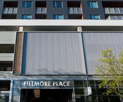 6 Residences at Fillmore Plaza Cherry Creek open studio architecture OSA - garage screen breezeway
