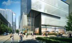 open studio architecture plaza close up OSA