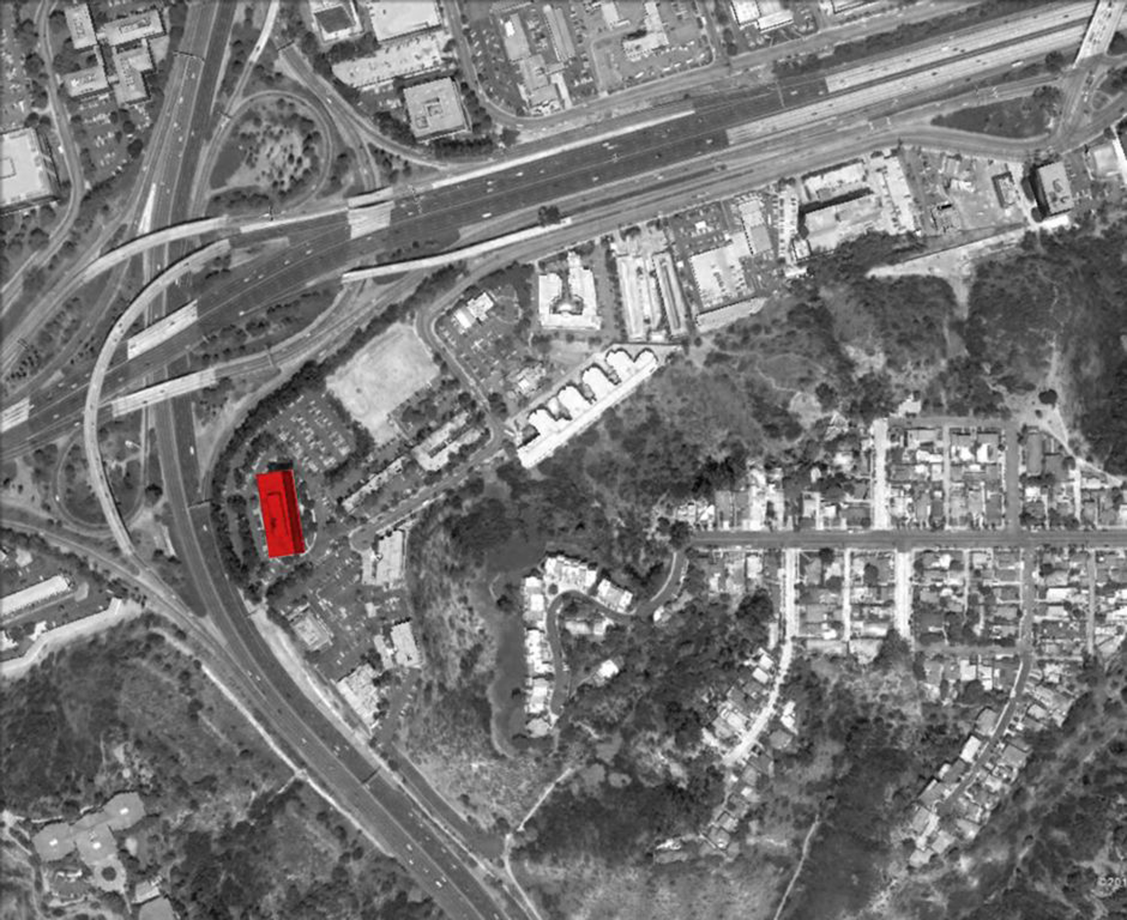 003 open studio archtiecture Brookwood 404 site aerial OSA