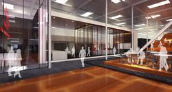 10 Red Bull Headquarters North America open studio architecture OSA - workspace rendering