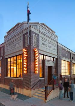 galvanize 1.0 adaptive reuse brick exterior cowork open studio architecture OSA