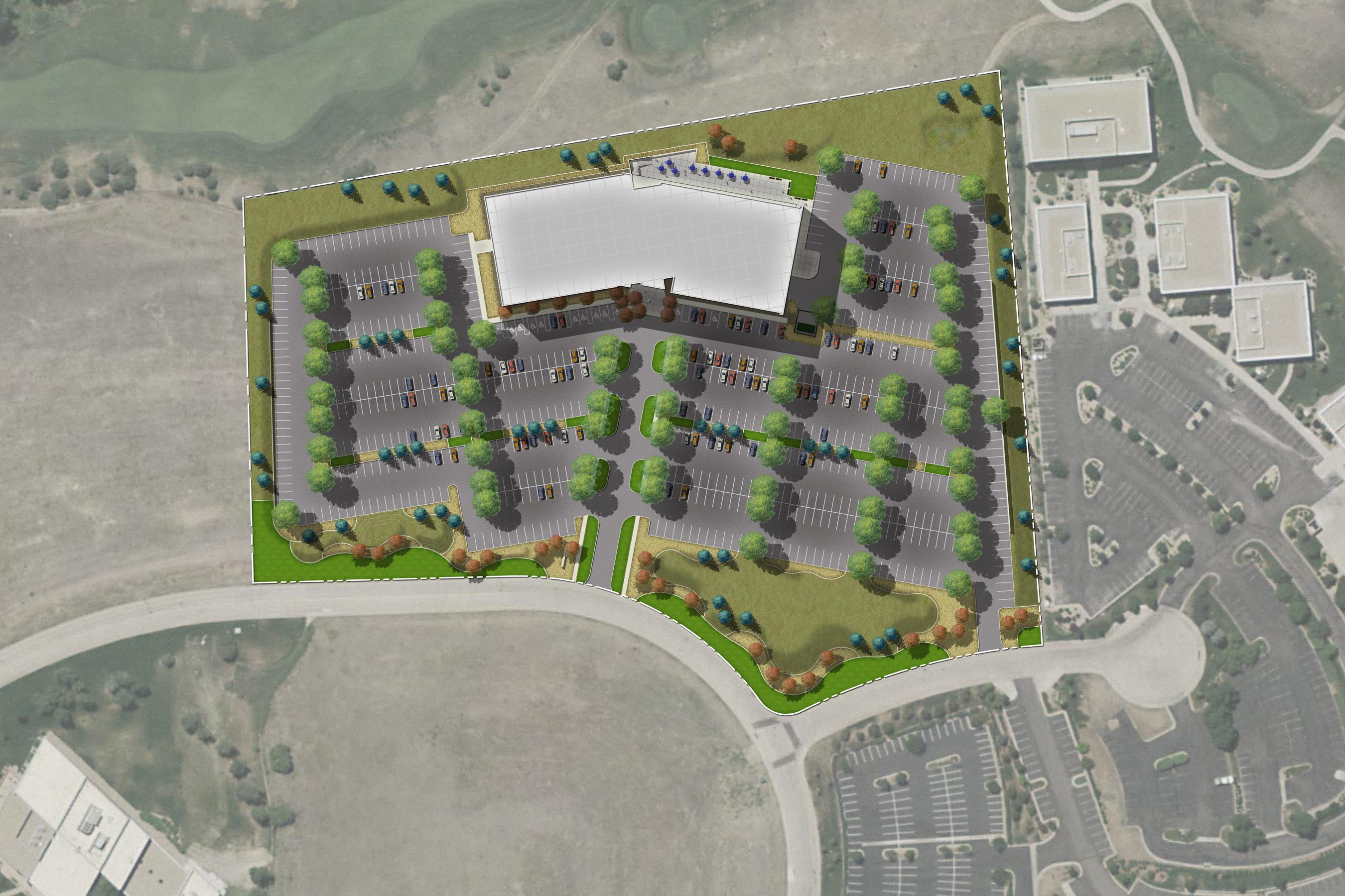 003 open studio architecture Trizetto Site Plan OSA