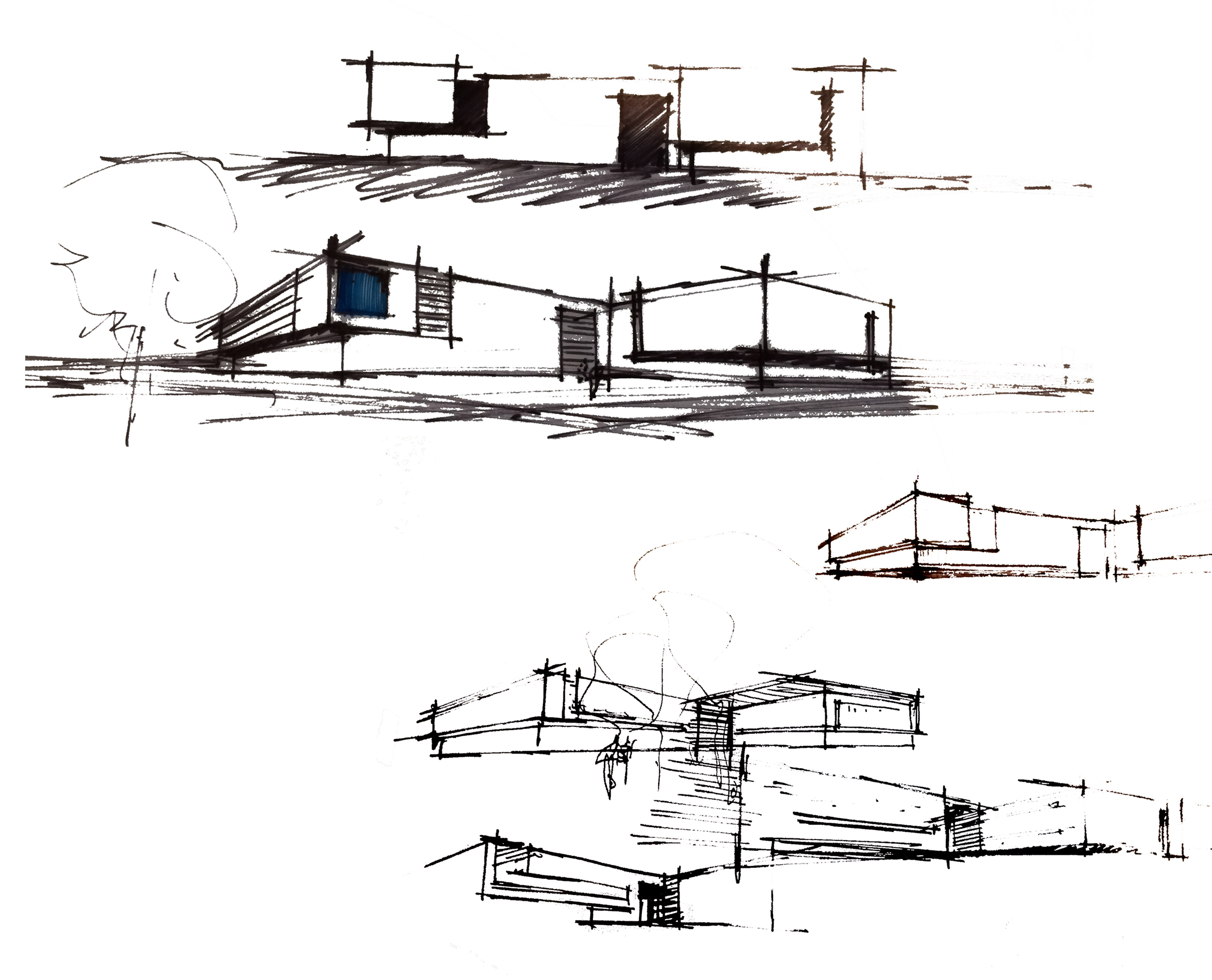 Brinkman Partners HQ The Fuse concept sketches open studio architecture OSA