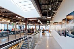 open studio architecture galvanize2 Co-Work Stair Skylight