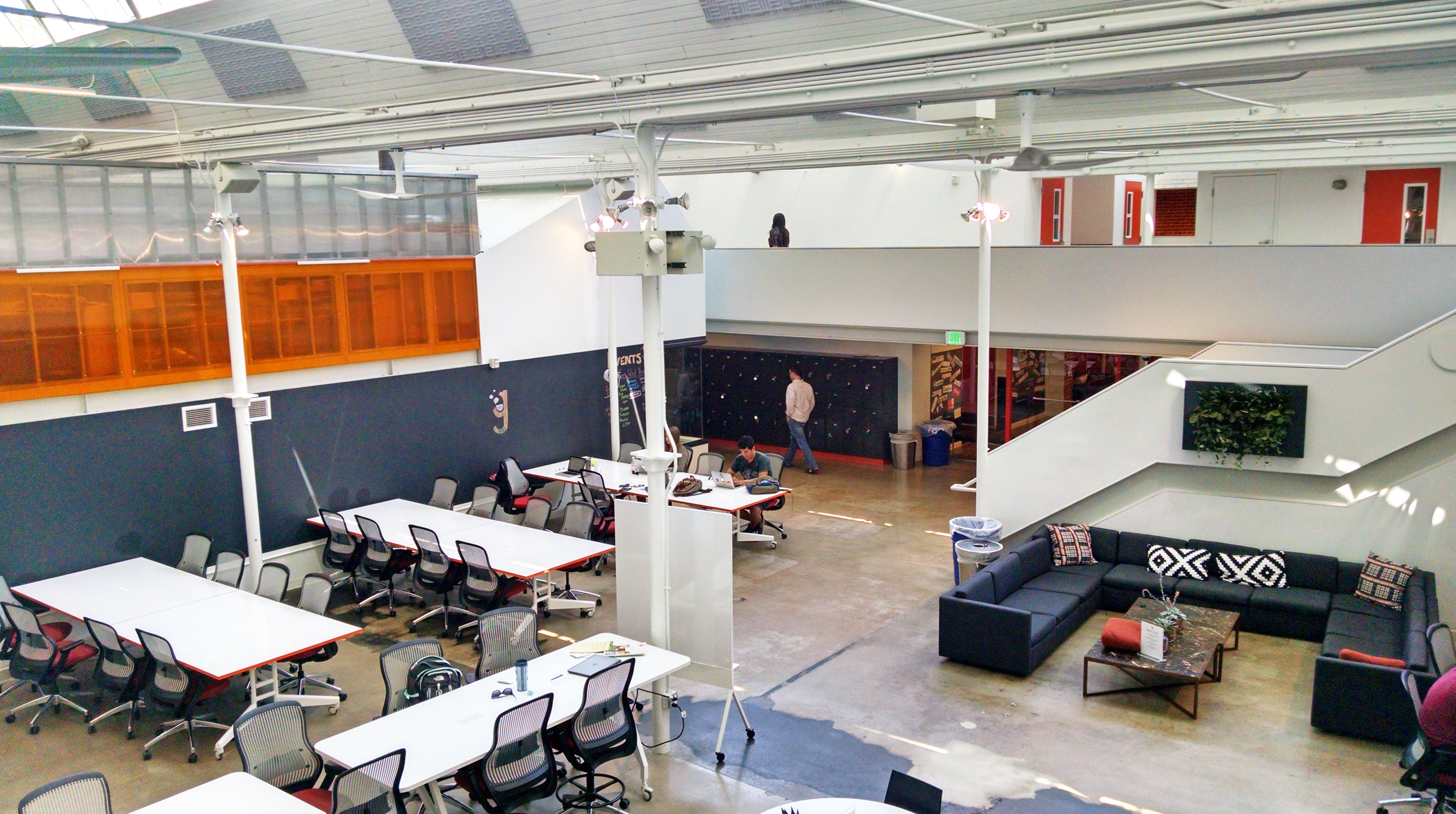galvanize 1.0 adaptive reuse cowork space open studio architecture OSA