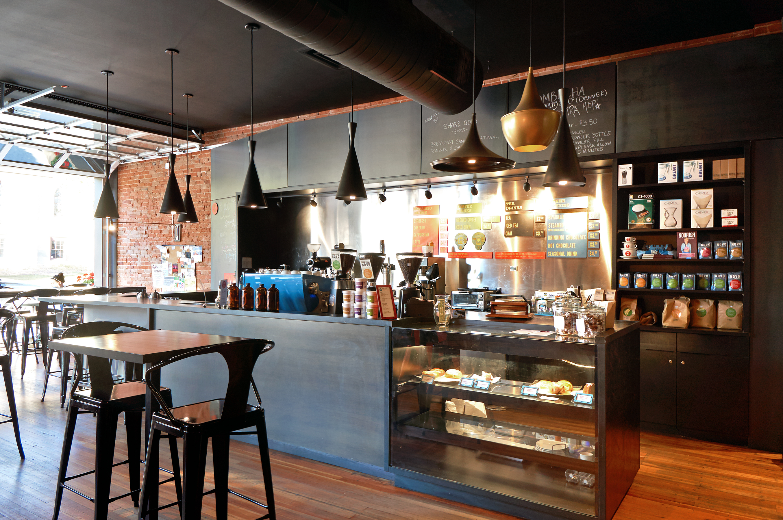 Novo Coffee shop 6th & Gilpin Service counter bar open studio architecture OSA