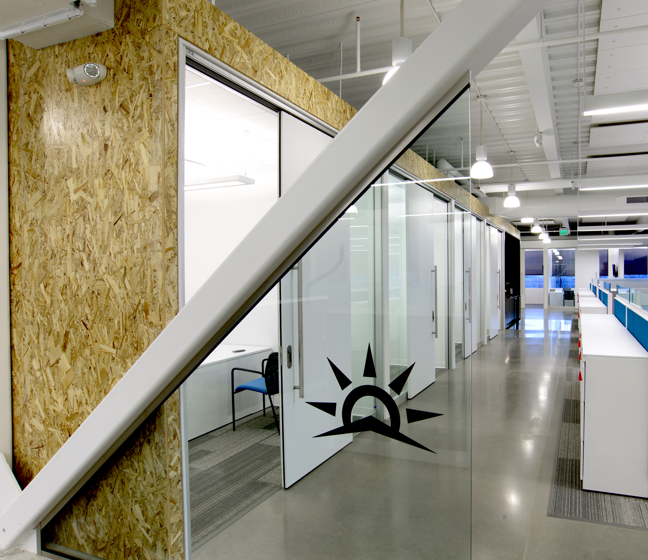 Brinkman Partners HQ The Fuse sliding door office fronts open studio architecture OSA
