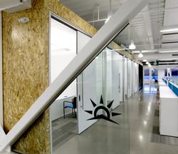 Brinkman Partners HQ The Fuse sliding door office fronts open studio architecture OSA