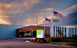 04 Green House Data Center Cheyenne open studio architecture - exterior entry