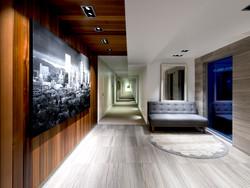 10 Residences at Fillmore Plaza Cherry Creek open studio architecture OSA - interior lobby