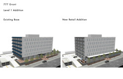 Exisitng and Proposed Retail Addition