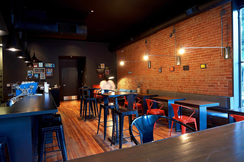 Novo Coffee Shop 6th & Gilpin from community table open studio architecture OSA
