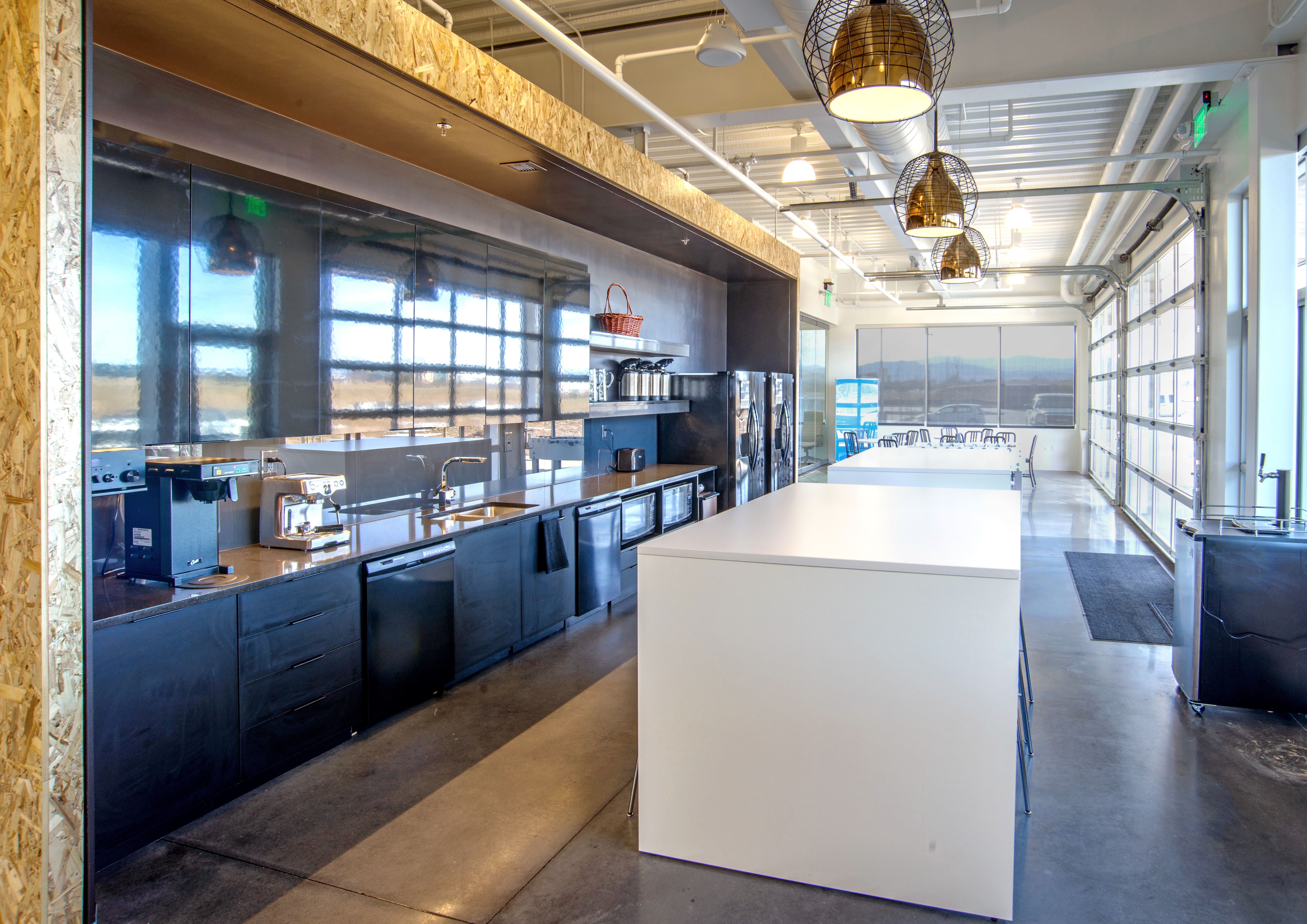 Brinkman Partners HQ The Fuse kitchen break area open studio architecture OSA