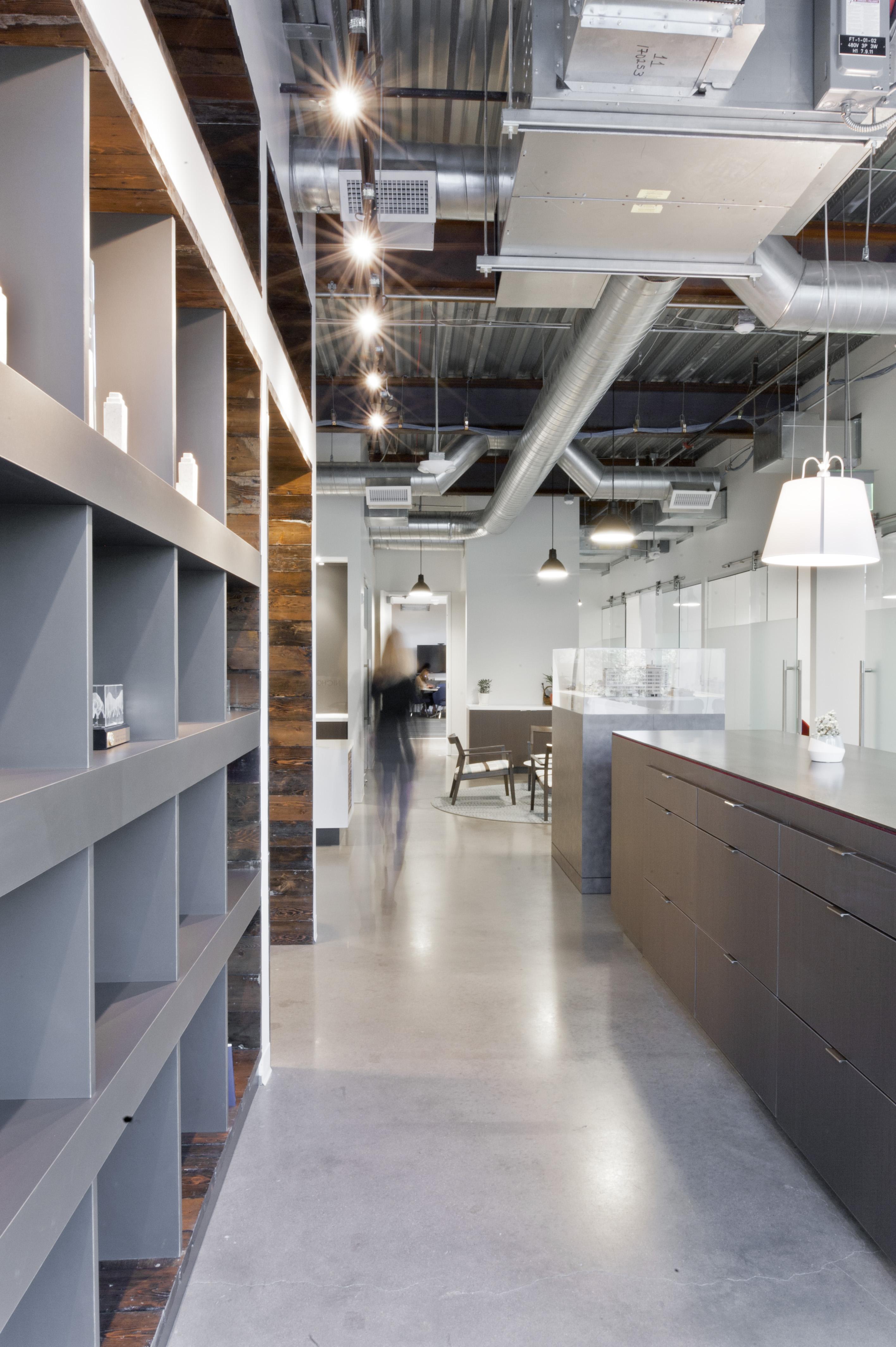 Open Studio Architecture Nichols Partnership Interior Library OSA