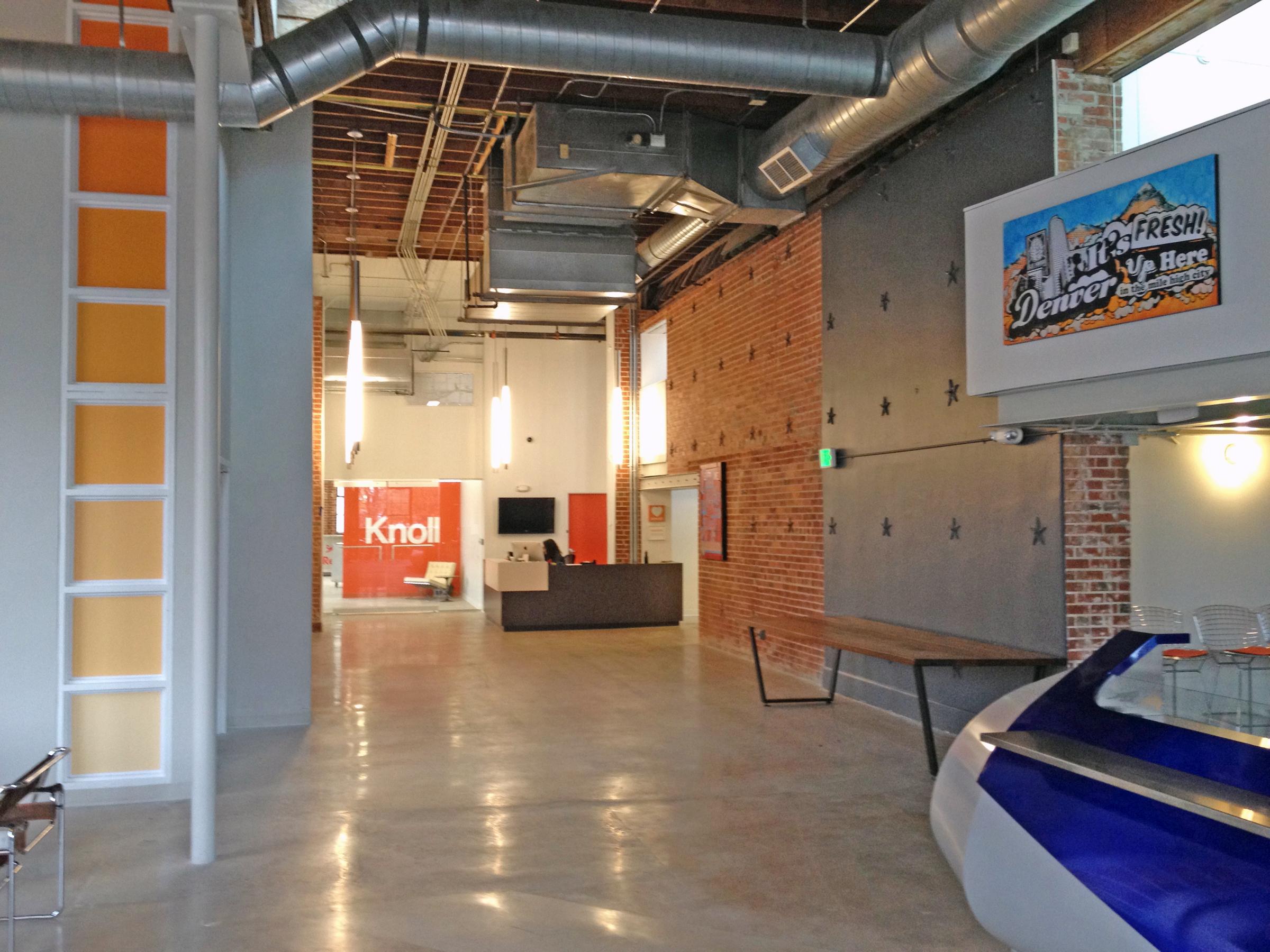 galvanize 1.0 reception cowork open studio architecture OSA