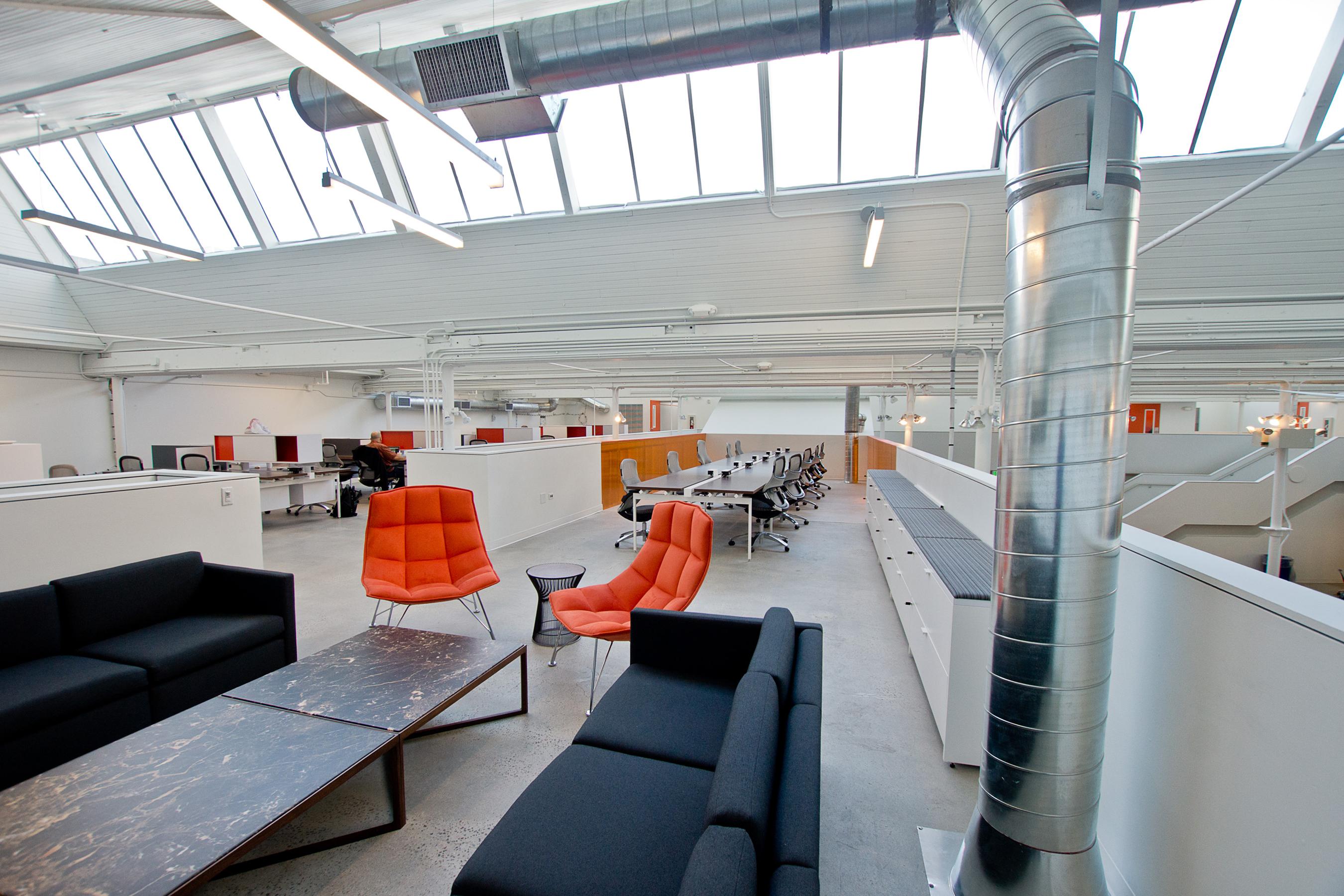 galvanize 1.0 cowork break out space mezzanine open studio architecture OSA