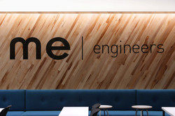 Open Studio Archicture ME Engineers Wood Branding Wall OSA