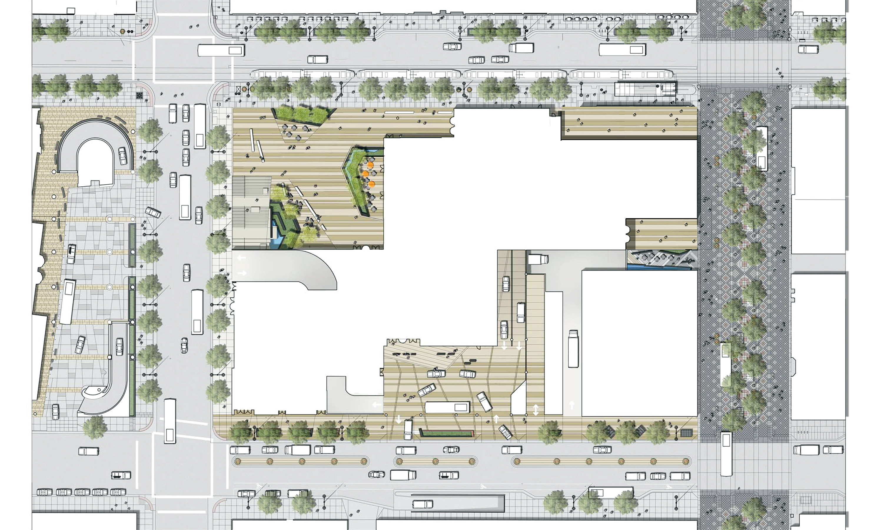 open studio architecture site plan OSA
