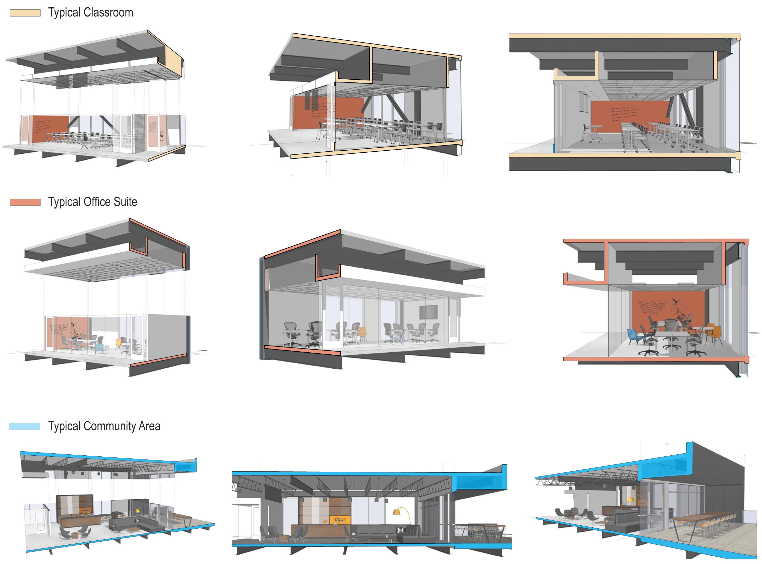 open studio architecture galvanize2 section diagrams OSA