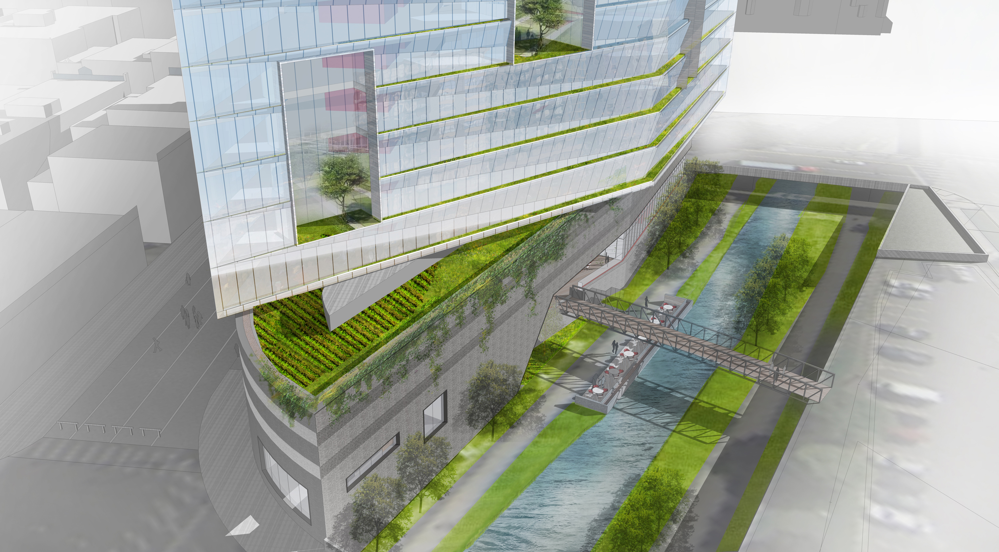 6 14th and Larimer staggered glass podium garden tower green 2 open studio architecture